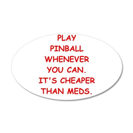 pinball Wall Decal