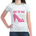 Walk the Walk Jr. Ringer T-Shirt