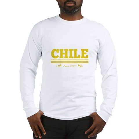 CHILE since 1818 Long Sleeve T-Shirt