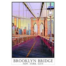 Brooklyn Bridge Twin Towers Wall Art