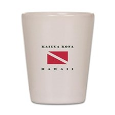 Kailua Kona Hawaii Dive Shot Glass