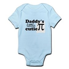 Daddys little cutie Pi Body Suit