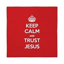 Trust Jesus Queen Duvet