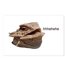 Laughing Iguana HeHe Lizard Postcards (Package of