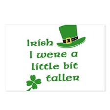 Irish I Were A Little Bit Taller St Patricks Day P
