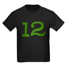 GREEN #12 T