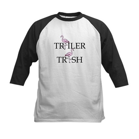 Trailer Trash Kids Baseball Jersey