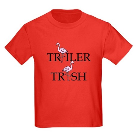Trailer Trash Kids Dark T-Shirt