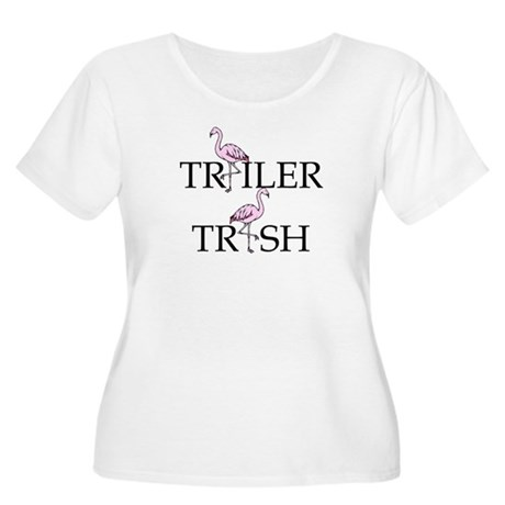 Trailer Trash Women's Plus Size Scoop Neck T-Shirt