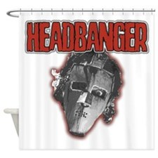 HeadBanger Shower Curtain