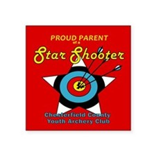 Star Shooter Proud Parent Sticker