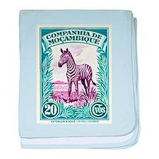 1937 Mozambique Company Zebra Postage Stamp baby b
