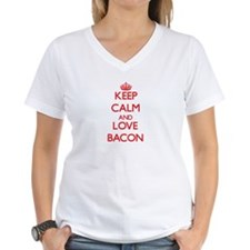 Keep calm and love Bacon T-Shirt