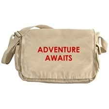 Adventure Awaits! Messenger Bag