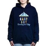 Baby Boy Due in May Hooded Sweatshirt