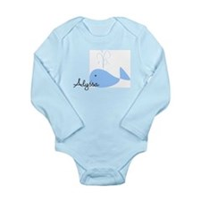 Name Whale Body Suit