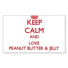 Keep calm and love Peanut Butter & Jelly Decal