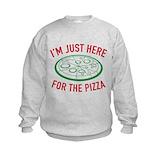 I love pizza Crew Neck