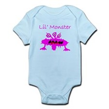Lil Monster Pink Body Suit