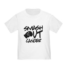 SMASH Out Cancer - Black T-Shirt