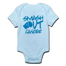 SMASH out Cancer - Electric Blue Body Suit