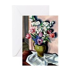 Spring Flowers Greeting Card