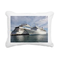 AIDAluna and MV Boudicca Rectangular Canvas Pillow