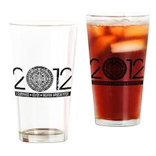 2012 Apocalypse Survivor Drinking Glass
