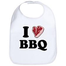 I [heart] BBQ Bib