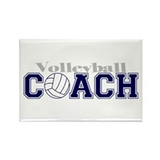 Volleyball Coach II Rectangle Magnet (100 pack)