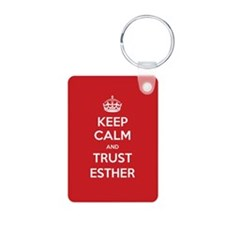 Trust Esther Keychains