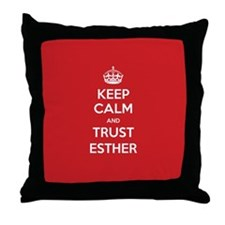Trust Esther Throw Pillow