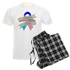 Thyroid Cancer Standing Strong Pajamas