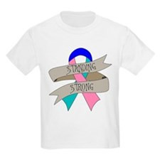 Thyroid Cancer Standing Strong T-Shirt