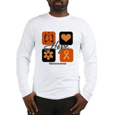 Multiple Sclerosis Hope Long Sleeve T-Shirt