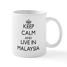 Keep Calm and Live In Malaysia Mugs
