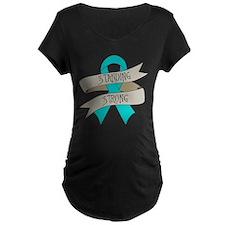 Myasthenia Gravis Standing Strong Maternity T-Shir