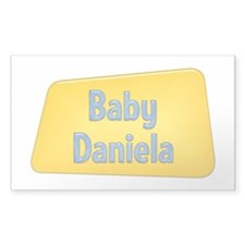 Baby Daniela Rectangle Decal