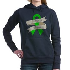 Kidney Disease Standing Strong Hooded Sweatshirt
