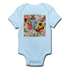Colorful Flower pattern Body Suit