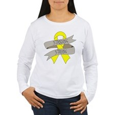 Ewings Sarcoma Standing Strong Long Sleeve T-Shirt