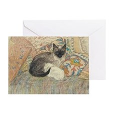 Steinlen Cat Greeting Card