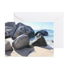 Blissful Beach Greeting Card