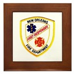 NOFD First Responder Framed Tile