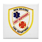 NOFD First Responder Tile Coaster