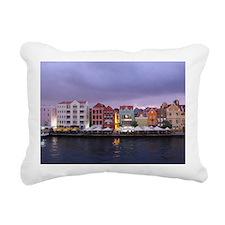 Curacao Dusk Rectangular Canvas Pillow