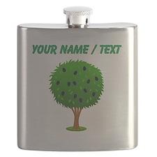 Custom Mulberry Bush Flask