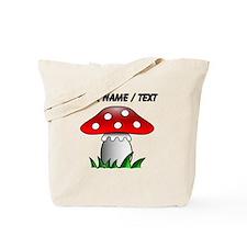 Custom Cartoon Mushroom Tote Bag
