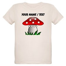 Custom Cartoon Mushroom T-Shirt