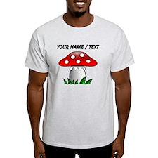 Custom Cartoon Mushroom T-Shirt